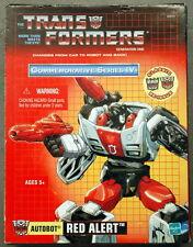 Factory Sealed Commemorative Series IV Transformer Red Alert G1 Reissue MIB
