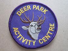Deer Park Activity Centre Girl Guides Cloth Patch Badge (L2K)