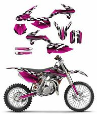 2013 - 2017 KTM SX 85 graphics sticker kit #2500 hot pink