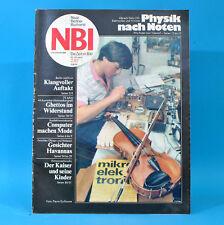 DDR NBI 2 1987 WMK Eistanz Carl Zeiss Jena Grevesmühlen Gret Palucca Havanna D