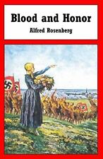Blood and Honor by Alfred Rosenberg (English) Paperback Book Free Shipping!