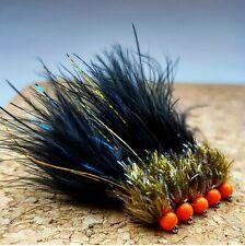 Ally McCoist Lures size 12 (Set of 3) Uv Damsel Fly Fishing Flies