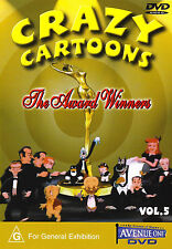 Crazy Cartoons Vol 5 The Award Winners-DVD-Popeye-Superman-Betty Boop-Dover Boys
