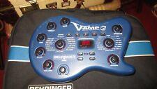 Berhringer V-Amp II Virtual Guitar Amp With Bag,  Foot Controlller and Manual