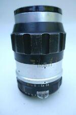 Vintage NIKON 135mm//f3.5 telephoto lens .
