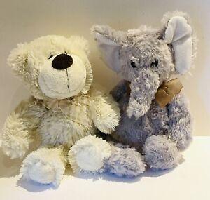 Teddy Bear Soft Toy Plush X2