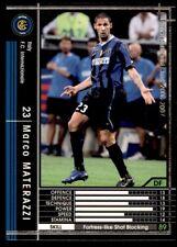 Panini/Sega (Japan) WCCF (2006-2007) Marco Materazzi (Inter Milan) No. 309