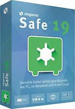 Steganos Safe 19 CD/DVD Version Tresor für Ihre Daten für 5 PC EAN 4023126119445