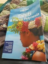 Lonely planet tahiti and french polynesia like new