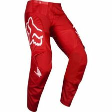 Pantalone moto Cross Fox 180 HONDA RED TG 30/46