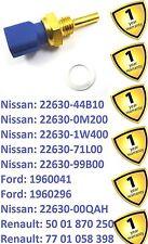 Interruptor de remitente de Temperatura para Coche Nissan Micra Maxima nota primera 2263071L00
