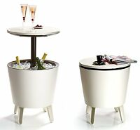 Keter Cool Bar Table Refrigerator Garden Furniture Bar Ice Cold Drink Outdoor