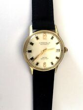 VINTAGE CARAVELLE AUTOMATIC 11ULACO N1 CLASSY GENTS WRIST WATCH 17 JEWELS RUNS