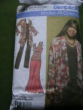 Simplicity Sewing Pattern 3894 Ladies Misses Jacket Top Skirt Khaliah Ali