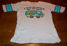 TEEN WOMEN'S VINTAGE STYLE SCOOBY-DOO The Mystery Machine T-shirt XL NEW