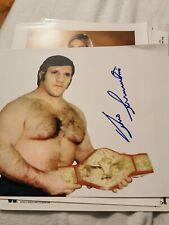 Bruno Samartino wwe wwf wcw original Autogramm signiert Autograph signed photo