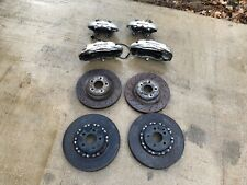 07 08 09 10 11 Mercedes W219 E63 SL63 CLS63 AMG Brembo Brake Calipers Rotors Set
