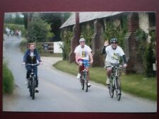 POSTCARD A7-9 HERTFORDSHIRE ST ALBANS ROTARY CHARITY BIKE RIDE