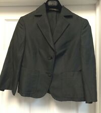 KITON Linen Silk Blue Jacket Blazer Size 40 US SZ S