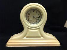 Antique ~ Celluloid /  Bakelite ~ Mantel Clock ~ Maker Unknown