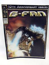 kaiju Godzilla G-FAN Magazine #60 10th Anniversary Issue Ultraman Tiga, Yuasa