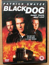 Black Dog DVD 1998 Rare Trucker Road Movie Film w/ Patrick Swayze + Meat Loaf