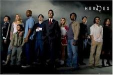 HEROES ~ HORIZONTAL CAST 24x36 TV POSTER Masi Oka Ali Larter NEW/ROLLED!