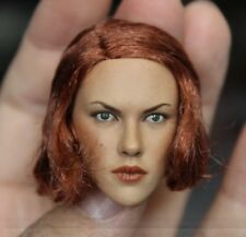 "1/6th Scarlett Johansson Short Hair Head Sculpt For 12"" Female Action Figure"