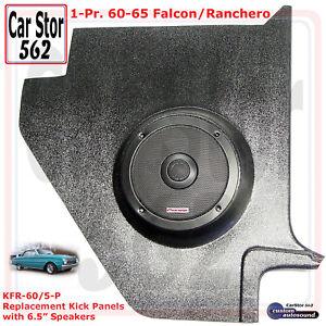 "Custom Autosound KFR-60/5-PIO Kick Panels&6.5"" Speakers 60-65 Falcon/Ranchero"