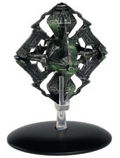 Eaglemoss Star Trek ST0109 Borg Queen's Ship w/ MAGAZINE #109 NEW RELEASE STOCK!
