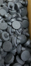 # 2987 Pack of 15 Button Bumpers A=1/2, B=13/32, C=3/16 D=1/4 E=5/32 F=1/16 inch