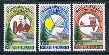 Mint Never Hinged/MNH Radio Norfolk Islander Stamps
