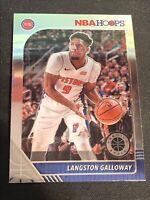 Langston Galloway 2019-20 Panini NBA Hoops Premium Stock Base Card #56