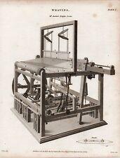1815 Georgiano stampa ~ tessitura ~ MR AUSTIN's MOTORE TELAIO