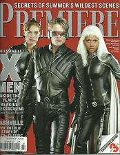 PREMIERE- JULY 2000 - X-MEN - ALL 3 COLLECTOR'S EDITION COVERS - US IMPORT TO UK