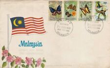 National Butterflies Series 1970 Flag Animal Insects Butterfly (stamp FDC) Rare