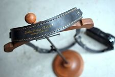 """ROBERU Leather Compact Camera Strap """" Antique gray"""" Hand made from Japan Nw"""