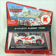 Disney Pixar Cars 2 Shu Todoroki kmart exclusive with rubber tires