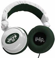 New York Jets NFL Licensed iHip DJ Style Noise Isolating Headphones