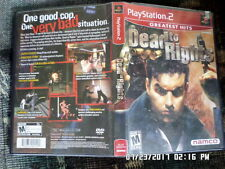 Dead to Rights (Sony PlayStation 2, 2002) = COMPLETE w/ Manual