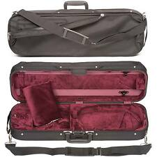 Bobelock 1002 Oblong 4/4 Violin Case: Wine Velour Interior - AUTHORIZED DEALER!