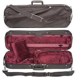 Bobelock 1002 Oblong 4/4 Violin Case - Wine Velour Interior - AUTHORIZED DEALER!