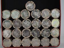 2015 20 Cent ANZAC Remembered 14-Coin Collection 20c Remembrance, Gallipoli.
