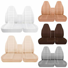 40-20-40 Car seat covers w// integrated seat belts fits 01-08 Ford F150 40-60