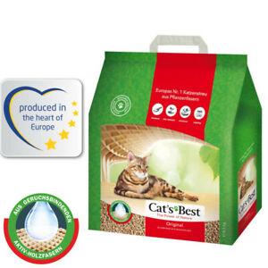 8.6kg Cat's Best Original Cat Litter  100% compostable and biodegradable.20l