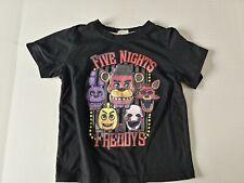 Short Sleeve Infant Shirt - 110 size - Color Black - Five Nights at freddy's