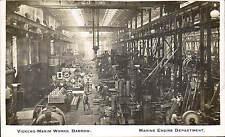 Barrow in Furness. Vickers-Maxim Works. Marine Engine Department. Shipbuilding.