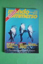 Magazine MONDO SOMMERSO n.214 del 1978 Rivista internazionale del mare