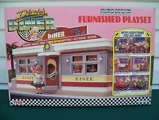 1989 Tyco Dixie's Diner Deluxe Furnished Playset in Excellent Plus Condition