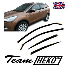 DFO15307 FORD KUGA mk2 5-DOOR 2013-2016   WIND DEFLECTORS 4pc HEKO TINTED